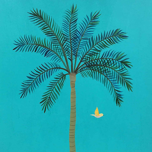 Imagier, palmier