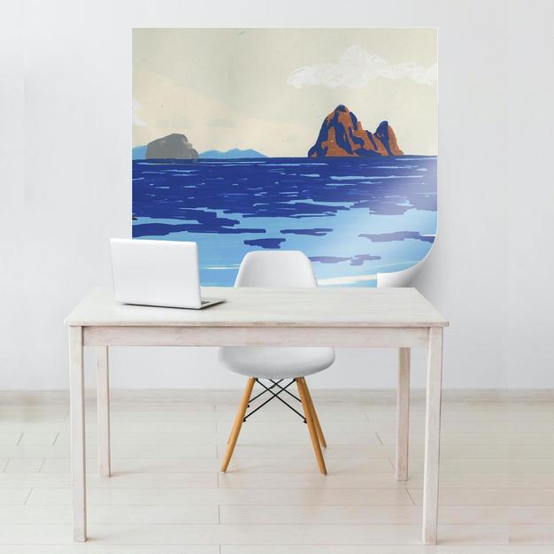 island-blues-wall