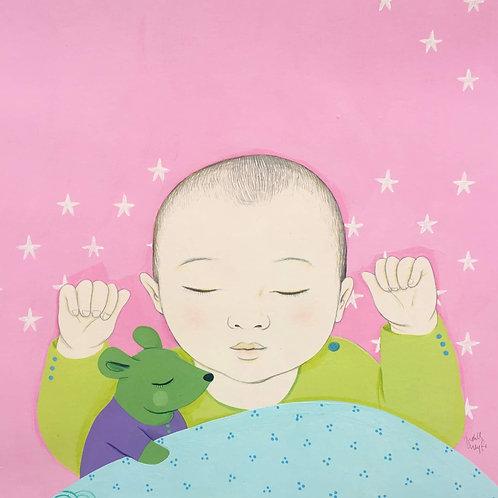 Les haikus des touts petits, sieste à la souris verte