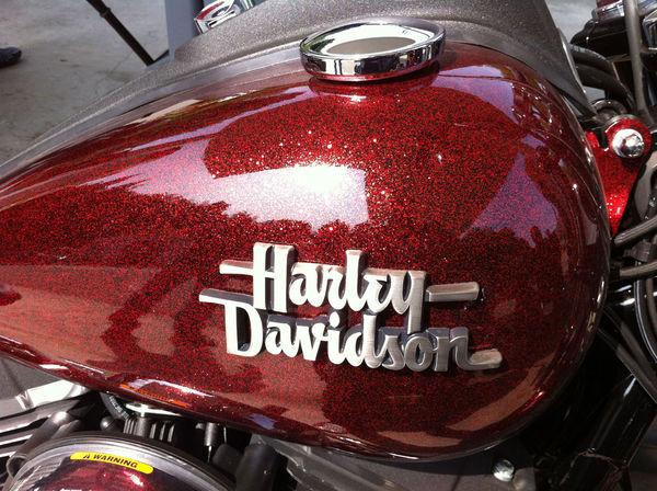 Harley Davidson Repaint