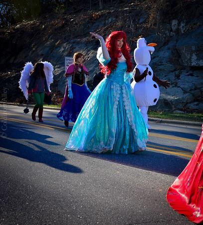 Princesses, Superheroes, a Parade and Amazing Photographer!