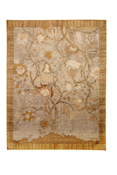 Tree of Life Patchwork Silk Wallhanging