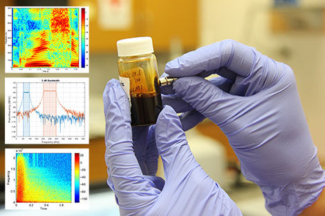 Chemical analysis and software simulation