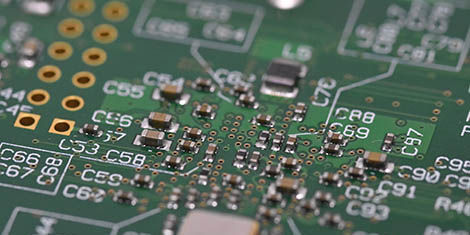 Miniaturized electronic circuit board