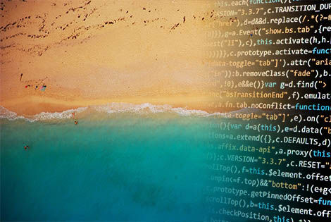 Beach and software code