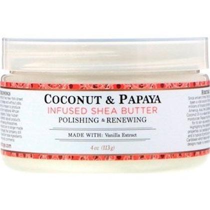 Nubian Heritage, Shea Butter, Infused Coconut & Papaya, 4 oz