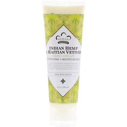 Nubian Heritage, Hand Cream, Indian Hemp & Haitian Vetiver, 4oz