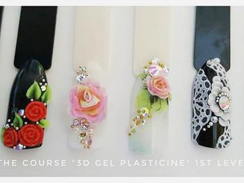 Formation nail art plastiline avec Mariya Borisova