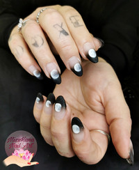 Nail art du cycle lunaire