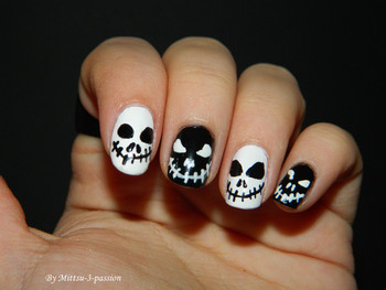 Nail art Mr Jack