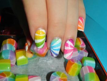 Rainbown candy