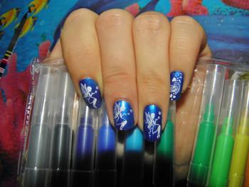 Bleu féerique