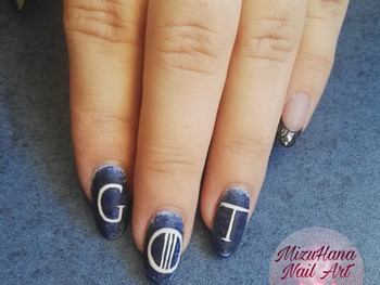 Nail art Game of Thrones!
