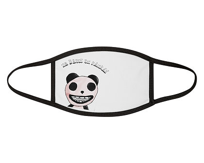 Mixed-Fabric Face Mask- Panda