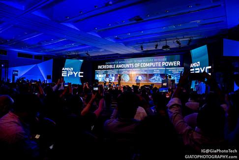 AMD press conference at Computex