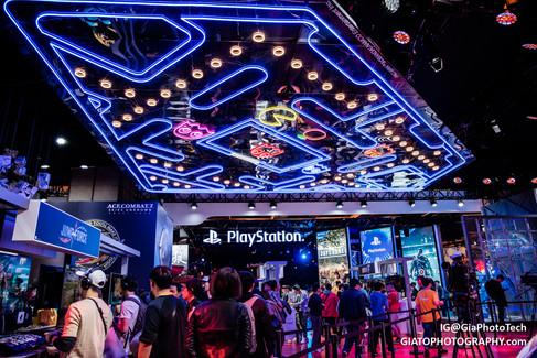 Bandai-Namco booth at Taipei Game Show