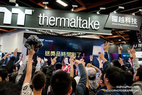 Thermaltake booth at Taipei Game Show