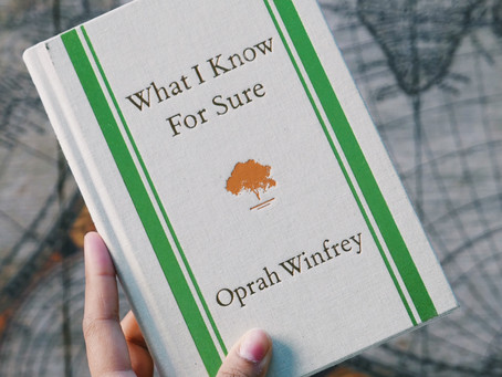 Book Review: What I Know For Sure by Oprah Winfrey