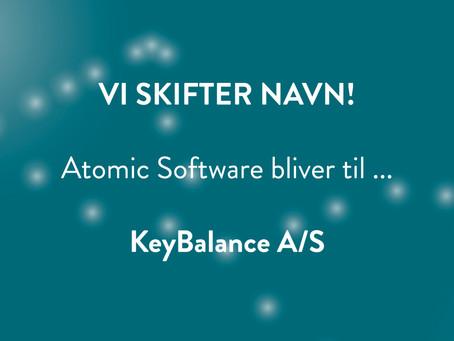 Nyt navn: KeyBalance A/S