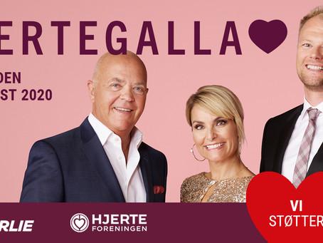 Vi støtter Hjertegalla 2020