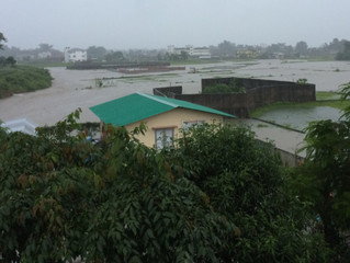 Phase Two at Alpha Mission School Begins (and so does the monsoon)