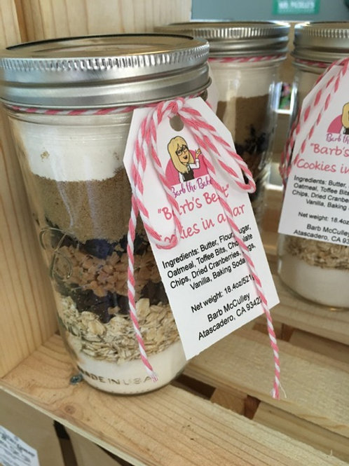 Barb's Best Oatmeal Cookies-in-a-Jar