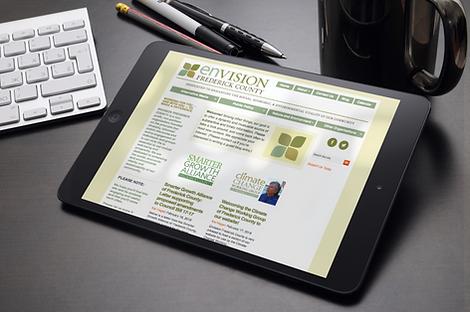 Envision Frederick website