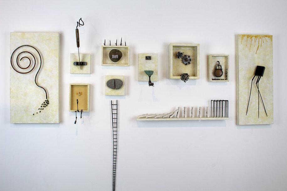 Delaplaine show wall installation