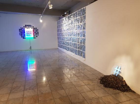 김민정 <장마전선>, Installation, 2019 <흥환프로젝트>, Installation, 2019 <3651>, Installation, 2019