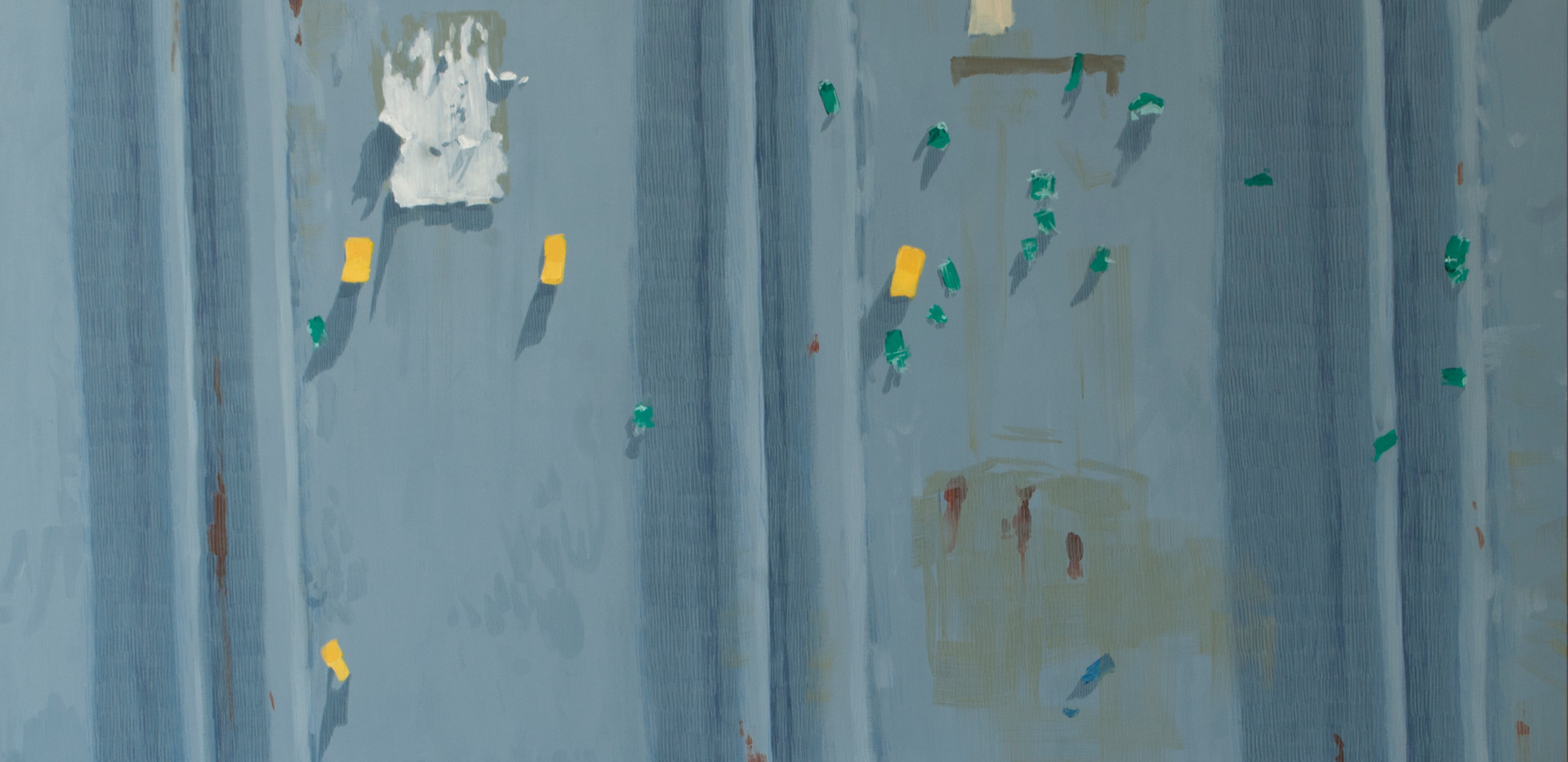 김민주, <202004251339>, Acrylic, color pancle on canvas, 116.8*72.7cm, 2020