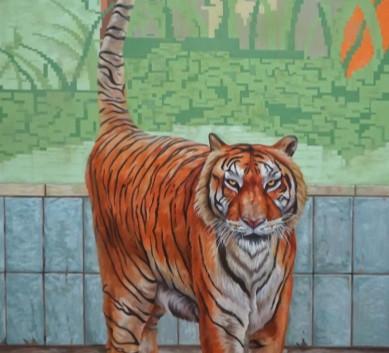 이재규, <Life2>, 162.2*97cm, Oil on canvas, 2017