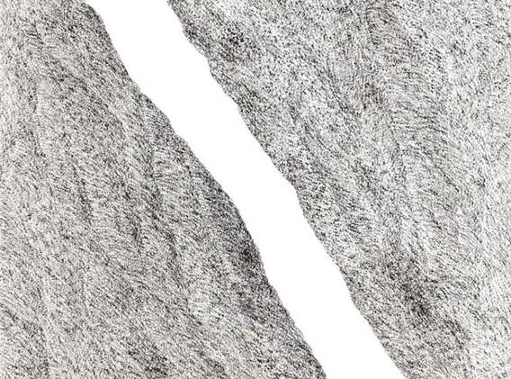 이정식, <Going>, 116880cm, 캔버스에 먹, 아크릴, 2017