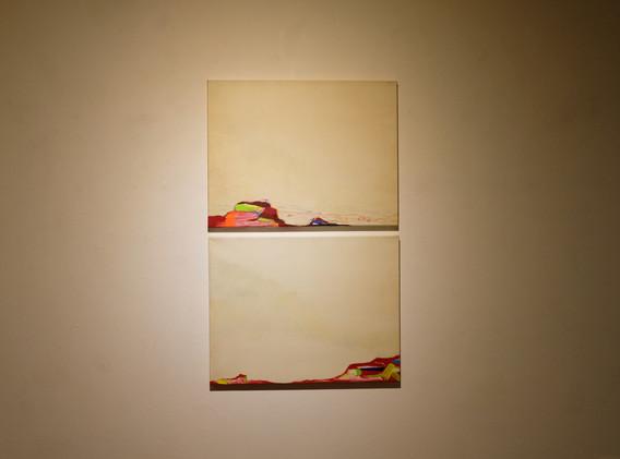 이연주 <Iki(이키)>, 53.0*40.9㎝, acrylic on canvas, 2016 <Iki(이키)>, 53.0*40.9㎝, acrylic on canvas, 2016