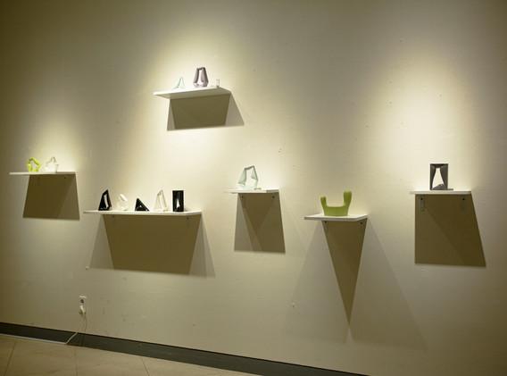 정  욱, 파편, ceramic, installation, 2020
