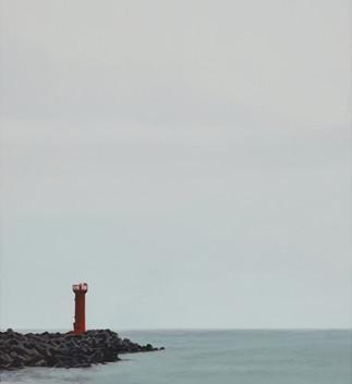 최영민, <stay>, 80.3*60.6cm, oil on canvas, 2018
