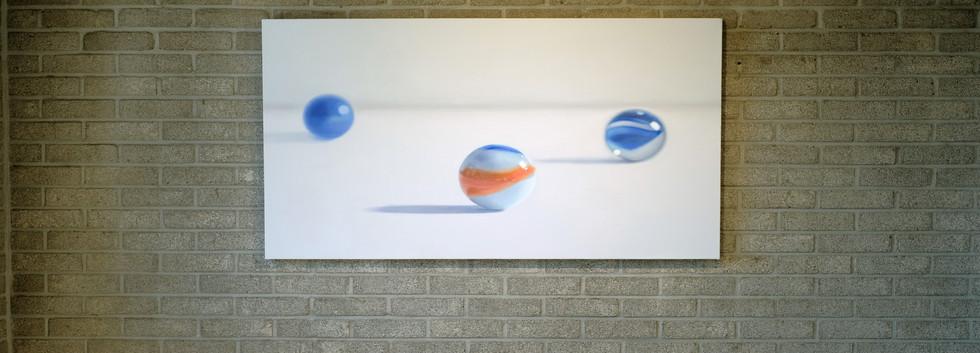 장윤지, <과거>, oil on canvas, 72.7*116.8cm, 2019
