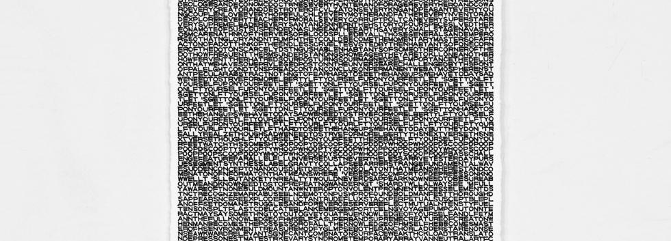 장석헌, <SELF-PORTRAIT ISLET>, Ink on paper, 29.7*21cm, 2019 (frame)