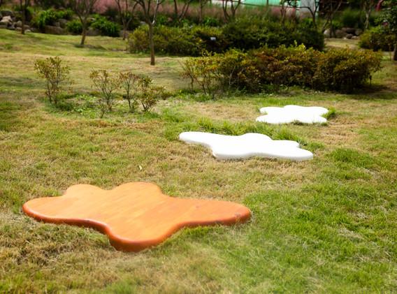 김아해, 어떤 모티브의 복제들, , mixed media, 88.5x112.5x7.4cm(3ea), 2020
