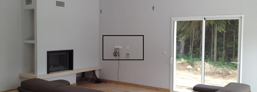 Option_Ecran_plat_mural_-_câblage_encast