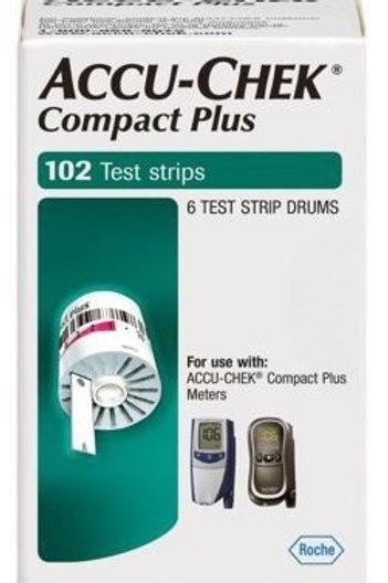 Accu-Chek Compact Plus 102 ct Retail