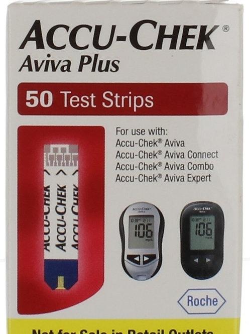 Accu-Chek Aviva Plus 50 ct Retail