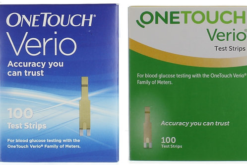One Touch Verio 100 ct Retail