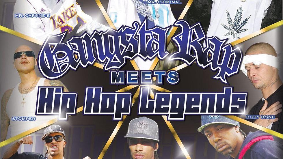 Gangsta Rap Meets Hip-Hop Legends