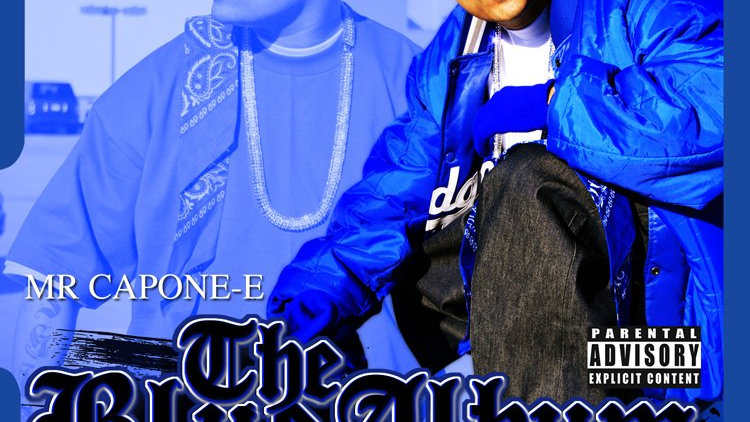 Mr.Capone-E - The Blue Album