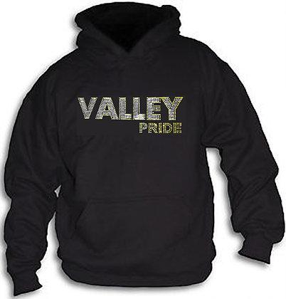 Valley Rhine Stone Hoodie