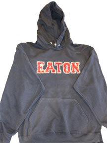 EATON   Rhinestone Hoodie