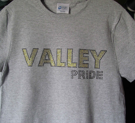 Valley Pride Bling Tee Shirt