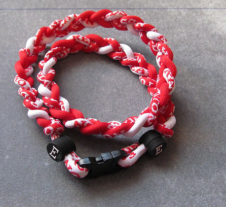 Eaton Reds Tornado Ionic Necklace