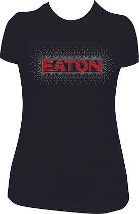 Eaton Scatt Rhinestone Long Sleeve Tee