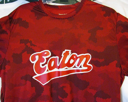 "Ladies V-neck ""Eaton"" CamHex Wicking Teet"